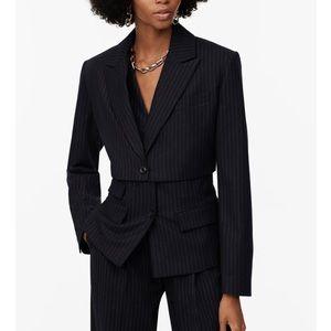 Limited edition cropped blazer or blazer crop top